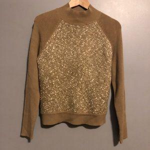 Nine & Co Mock Neck Sweater NWT